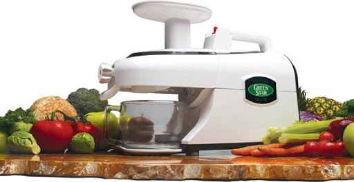 GREEN STAR ELITE GSE-5000 JUMBO TWIN GEAR JUICE EXTRACTOR